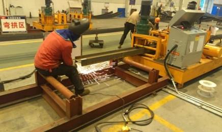 工字钢拱架冷弯机加工场地选择