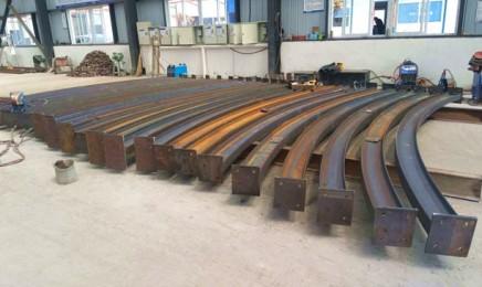 工字钢拱架弯拱机制作优势