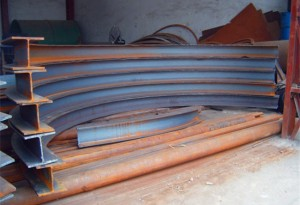 如何和客户准确确定工字钢 H型钢的冷弯面