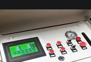 数控工字钢弯拱机PLC触摸屏按键操作方法